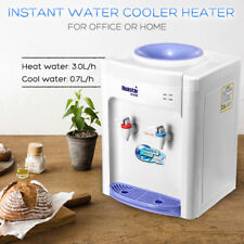 500W Electric Hot Cold Water Cooler Dispenser 3L/h Home Office Use Desktop Table