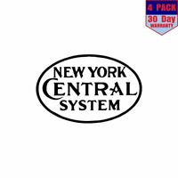 "New York Central /'A/"" Railroad Contour Cut Vinyl Decals Sign Stickers Trains"