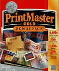 Printmaster Gold Bonus Pack Pc New Sealed Boxed See System Specs