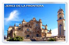 JEREZ DE LA FRONTERA ANDALUCIA SPAIN MOD2 FRIDGE MAGNET SOUVENIR IMAN NEVERA