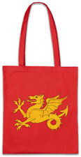 Shire Flag Shopper Shopping Bag UK Great Britain Coat of Arms Crest Dragon