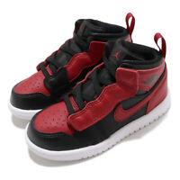 Nike Jordan 1 Mid ALT TD Banned Bred Black Red Bulls Toddler Infant AR6352-074