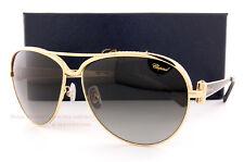 New Chopard Sunglasses SCH 996S 0301 Gold-Black/Gradient Grey