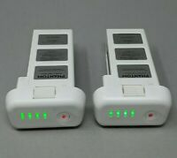 2 OEM Genuine DJI Phantom 3 Intelligent Flight Battery - 24 & 35 CHARGES