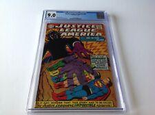 JUSTICE LEAGUE OF AMERICA 59 CGC 9.0 WONDER WOMAN FLASH MANHUNTER DC COMICS