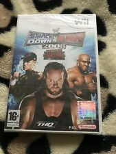 SMACK DOWN VS RAW 2008 (NINTENDO Wii) *NEW & SEALED* Free Shipping