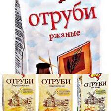 Roggenkleie Erzeugnis OGo Borodinskie Haferkleie Отруби овсяные ржаные бородинск