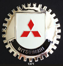 CAR GRILLE EMBLEM BADGES - MITSUBISHI
