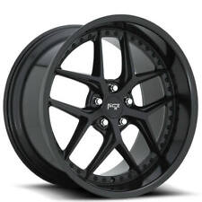 "4Rims 20"" Niche M226 Vice Matte Black Wheels and Tires"