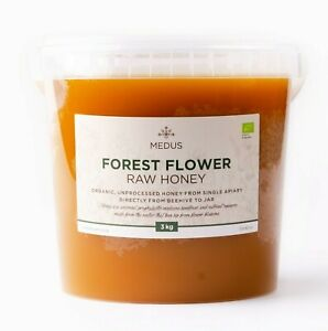 RAW Organic Honey MEADOW | FOREST | SPRING | WILDFLOWER Bulk Pure 100% Natural