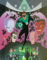Green Lantern Kyle Rayner Warners Limited Edition Animation cel of 250