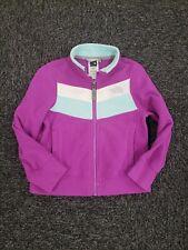The North Face ~ Girls Purple Retro Fleece Sweatshirt ~ Size 5 XXS
