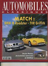 AUTOMOBILES CLASSIQUES n°84 09/1997 BMW MROADSTER TVR GRIFFITH PORSCHE GT1