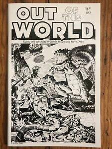 Out of this World #17 Ditko & Snyder Fanzine Reprint w/ Unpublished Flash Gordon