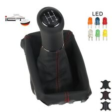 Original ICT shift knob gaiter leahter LED Mazda 3 Typ BL illuminated A 03