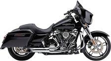 Cobra Turnout 2-into-1 Exhaust Chrome #6270 Harley Davidson