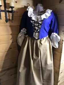 Colonial Outlander Rev War 18th Century Williamsburg Pirate Outfit