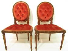 Art Deco Walnut 20th Century Antique Chairs