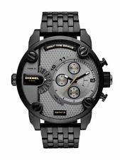 NIB Diesel DZ7410 Little Daddy seven-link bracelet watch 52 mm