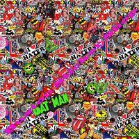 HUGE Sticker Bomb JDM Japan Euro Drift Vinyl Decal B.M.W Jap sheet m3 vw r32