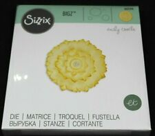 Sizzix Bigz Cutting Die - DAHLIA FLOWER 662594 Fabric Chipboard Applique Card