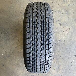 255/65R17 - 1 used tyre BRIDGESTONE DUELER H/T 840 : $45.00