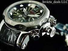 Invicta Mens 52mm Reserve JT VENOM SWISS Chrono GUNMETAL Dial LE Silver SS Watch