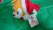 "RARE SEGA Sonic The Hedgehog Tails Slipper Plush Doll 7"" TAG JAPAN 1994 013"