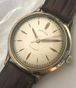 Vintage 34 mm Hamilton Micro rotor Automatic Swiss mens watch, cal. 663