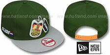G. I. Joe 'DOG TAGS SNAPBACK' Green-Grey Adjustable Hats by New Era