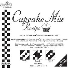 Cupcake Mix Recipe #3 foundation paper by Miss Rosie's Quilt Co for Moda