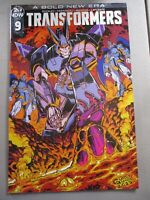 Transformers #9 - Variant Edition Bold New Era IDW NM