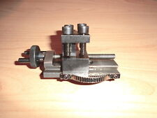 Obersupport Kegeldreheinrichtung cross slide neu f. EMCO Unimat 3 4 PC Höhe 17mm