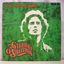 """33 tours GILBERT O'SULLIVAN Disque Vinyl LP 12"""" I'M A WRITER NOT A FIGHTER"""