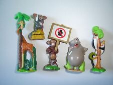 MADAGASCAR 2 2008 SMALL SET KINDER SURPRISE FIGURES - FIGURINES COLLECTIBLES