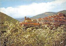 BR30407 Roussillon le village de mosset au printemps France