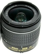 Nikon Nikkor AF-P DX 18-55mm F/3.5-5.6 VR G Lens GREAT CONDITION