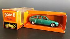 Solido #193 CITROEN GS Collectible Die Cast Car Made in France Original Box