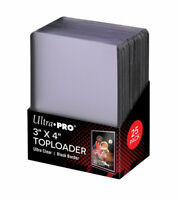 (25) Ultra Pro Black Border Topload Card Holder Toploaders ACEO Art Cards