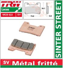 2 Plaquettes frein  Avant TRW MCB622SV Métal Fritté  Yamaha TDM 850 (4TX) 96-01