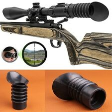 Hunting Accessories Soft Rubber Cover 38mm Eye Protector For Rifle Scope