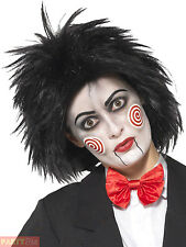 Ladies Jigsaw Saw Wig Adults Halloween Fancy Dress Accessory Horror Movie Outfit