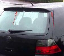 VW Golf MK4 R32 Rear Roof Spoiler Lip Wing Fit MK4 Fiberglass
