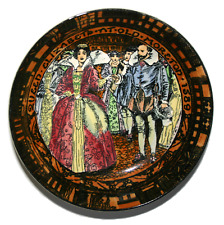 Royal Doulton Old Moreton 1589 No18 Queen Elizabeth Vintage Collector Plate Rare