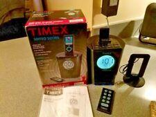 TIMEX TS70B Clock Radio w/ Dock connector for Sandisk w/ Indigo Night Light