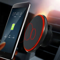 Qi Wireless Car Charger Magnetic Air Vent Mount Holder For Samsung Galaxy S8 S7