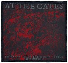 At The Gates – To Drink From The Night - WOVEN SEW ON PATCH - free shipping