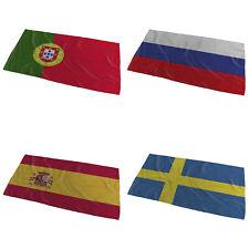 World Flags Wavy Design Bath Towel ( Variation 5 ) - Large