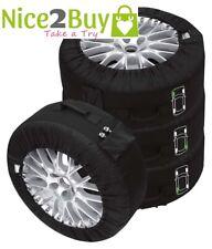 Für Kia Reifentaschen-Set Premium schwarz Reifentaschenset Premium 4-tlg. passen