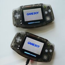 BLACK ICE MODEL Gameboy Advance Rechargeable Battery & Backlit // GBA Mod